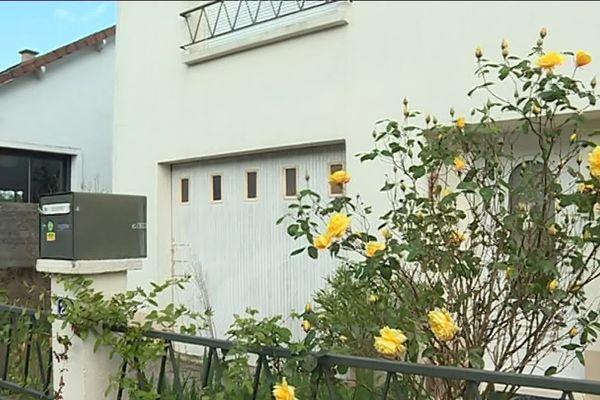 L'ancienne maison de la famille Troadec à Orvault, dont les quatre membres ont été assassinés