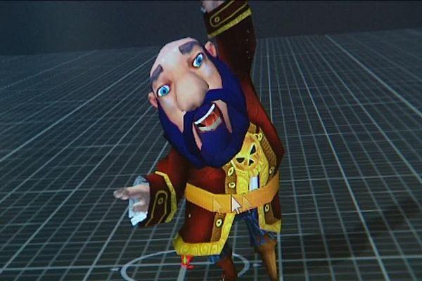 Un des personnages créé par la société Magic Xperience.