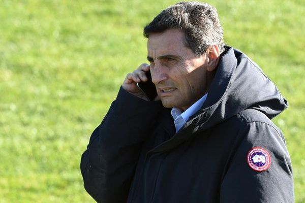 Mohed Altrad, président du Montpellier Hérault rugby