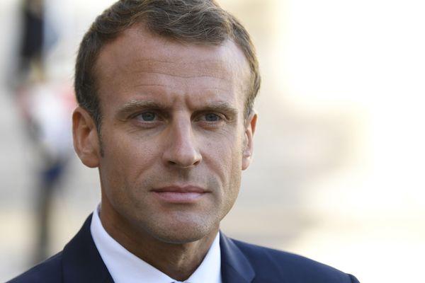 Emmanuel Macron en septembre 2018.