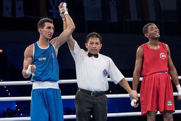 Sofiane Oumiha a remporté son 1/8ème de finale