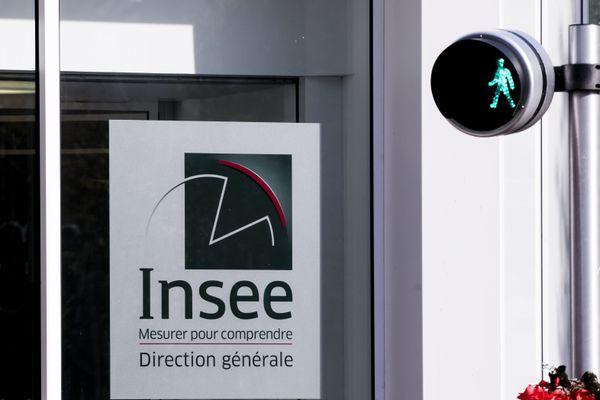 La façade du siège de l'Insee, à Montrouge (Hauts-de-Seine).