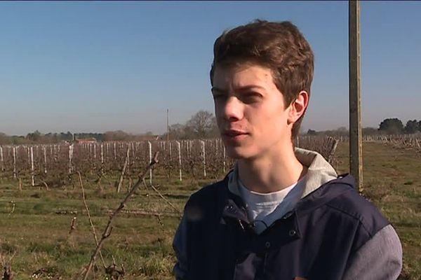 Luis Briand veut tout faire pour sauver l'exploitation viticole de ses parents située à l'Ouest de Nantes.