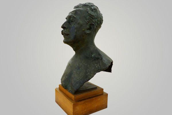 Un buste d'Etienne Clémentel réalisé par Rodin vient d'être acquis par le musée Roger-Quilliot.