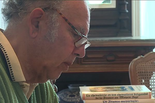 Michel Barda, candidat au bac, à 77 ans