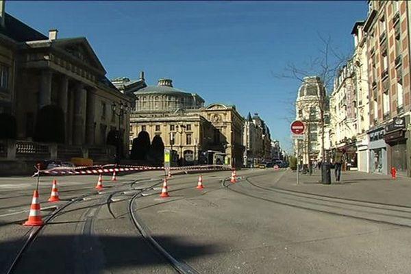 Le tramway de Reims se refait une beauté pendant ce long week-end de mai.