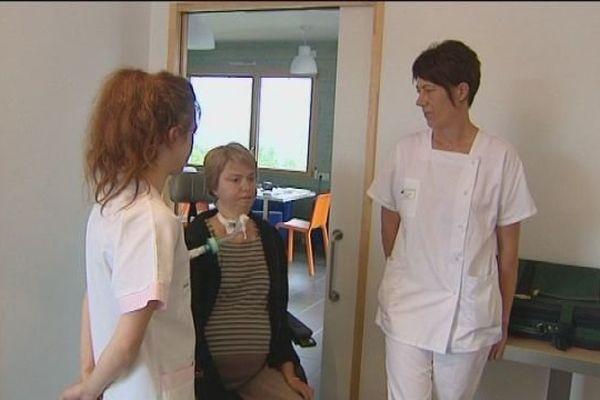 Des professionnels de santé sur ce lieu de vacances à Saint Lupicin pour aider les familles des personnes handicapées