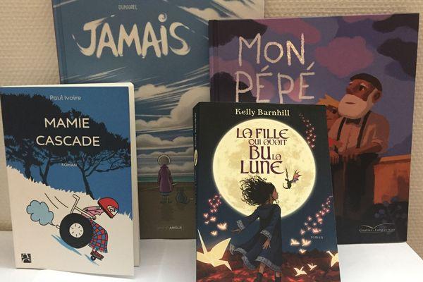 4 livres sur les grands parents