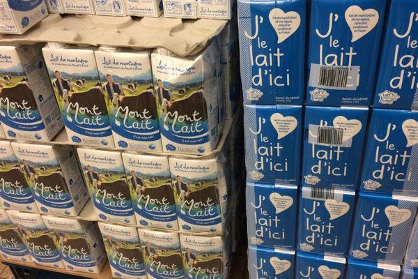 """Malgré quelques difficultés pour s'imposer, """"Mont Lait"""" a trouvé ses consommateurs et pour le président de l'association des producteurs de lait de montagne, le bilan est positif."""