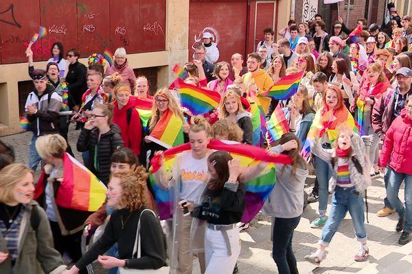 Samedi 4 mai 2019 - Marche des fiertés dans les rues de Rouen