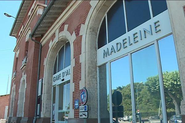 Un espace vacant de la gare d'Albi Madeleine est transformé en appartement.