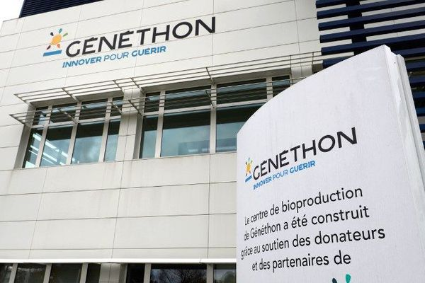 Le site du Genethon, à Evry, financé grâce aux dons du Telethon