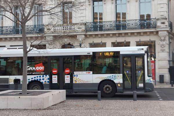 Un bus à Nîmes