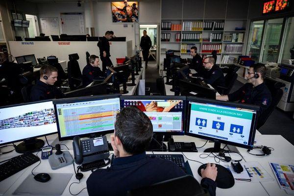 Centre d'appels des Pompiers de Paris (image d'illustration)