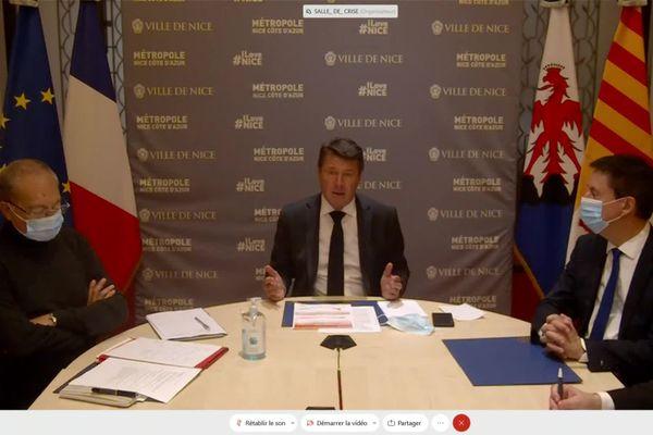 Le maire de Nice a établi la situation sanitaire à Nice et n'hésitera pas a prendre des mesures drastiques si les chiffres ne redescendent pas.