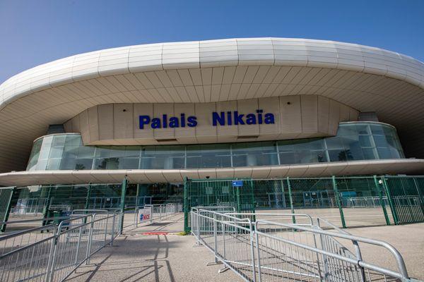 Le Palais Nikaïa en février dernier transformé en centre de vaccination.