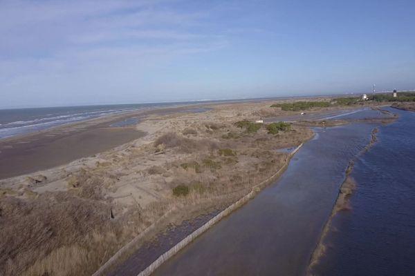 La plage de l'Espiguette au Grau-du-Roi, un site préservé, classé Natura 2000 et grand site de France