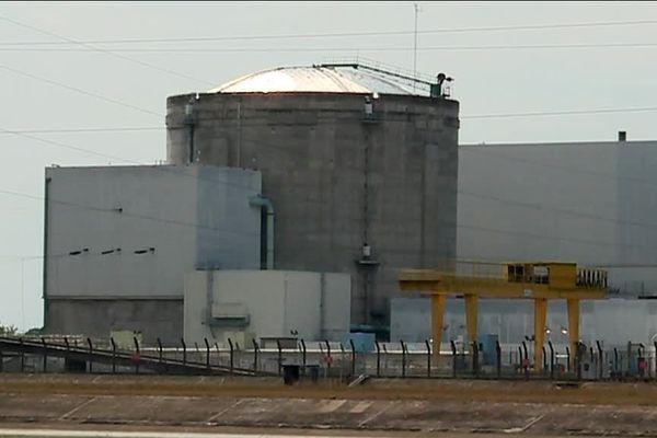 La centrale nucléaire de Fessenheim (Haut-Rhin).