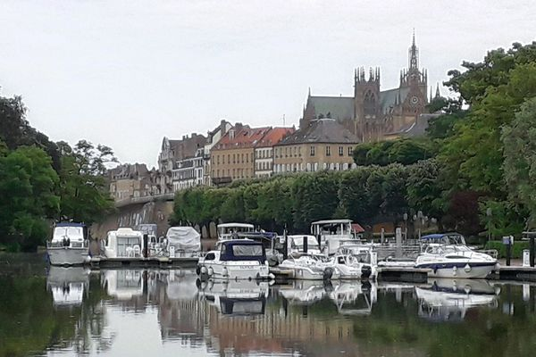 """Le port de Metz a obtenu le label """"Pavillon Bleu"""""""