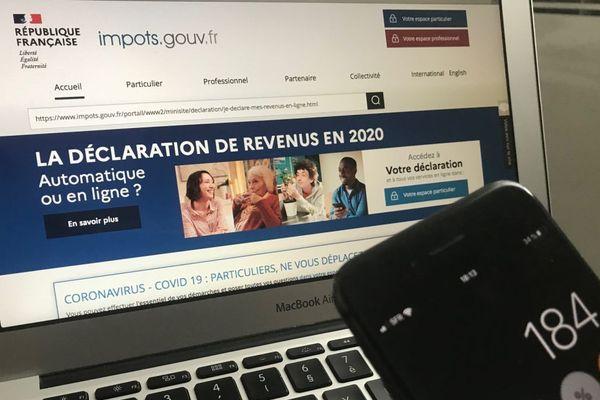 A compter du lundi 20 avril, les contribuables peuvent effectuer leur déclaration d'impôt sur le revenu en ligne.