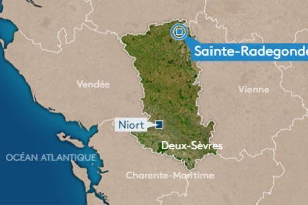 Les faits se sont produits à Sainte-Radegonde, au nord des Deux-Sèvres.