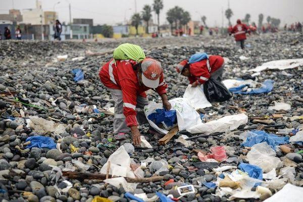 150 pays (ici, le Pérou) participent à cette opération mondiale de nettoyage de la planète.