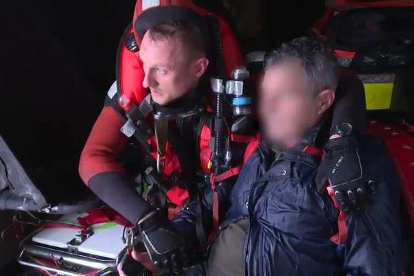 Cet homme âgé de 71 ans a été récupéré en état d'hypothermie