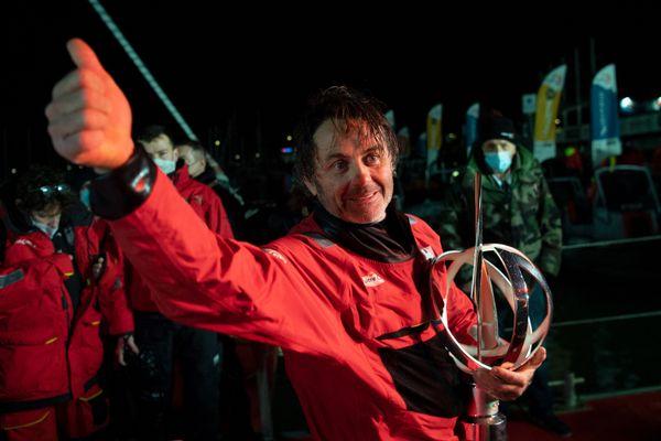 Le vainqueur du dernier Vendée Globe n'a pas eu de mal à persuader son sponsor de repartir pour un nouveau tour du monde