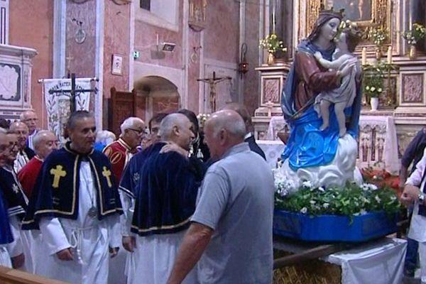 Une messe en l'honneur de la Vierge Marie a été célébrée jeudi 8 septembre à Lavasina.
