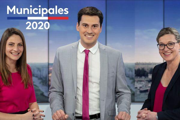 Bénedicte Drouet, Frédéric Nicolas et Emilie Leconte