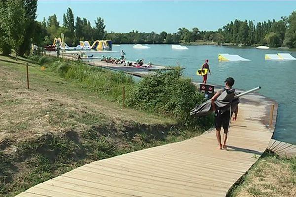 Les nouveaux aménagements du Lac de Sesquières à Toulouse