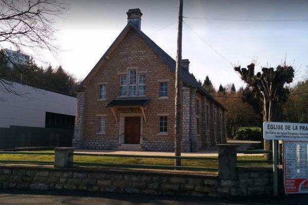L'église de la prairie à Monbéliard est une église mennonite.