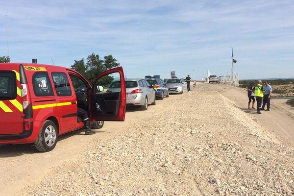 Un cadavre a été découvert ce dimanche matin en bas d'un pont sur la commune d'Aigues-Mortes, dans le Gard - 20 août 2017