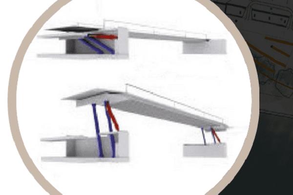 Un pont-levis