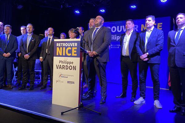 Philippe Vardon présente son programme à Nice