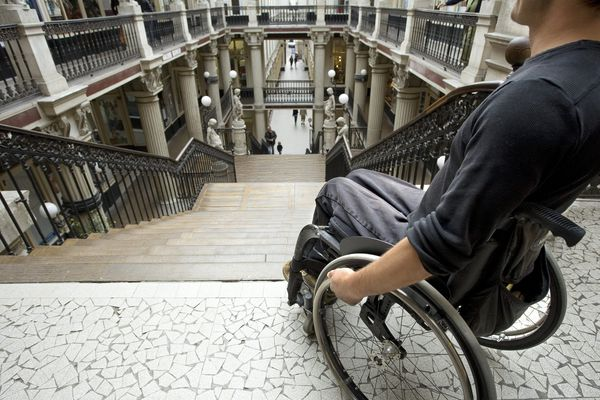 Nantes 2ème, avec 18,20/20, au palmarès des villes accessibles de l'Association des Paralysés de France, même si le célèbre Passage Pommeraye reste un Everest à dompter !