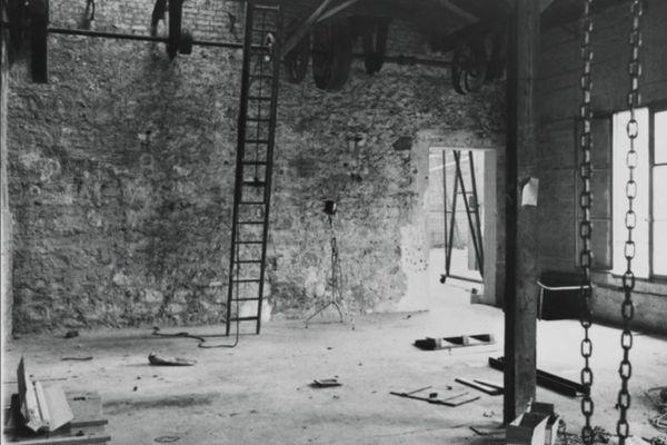 Le studio, en 1973.