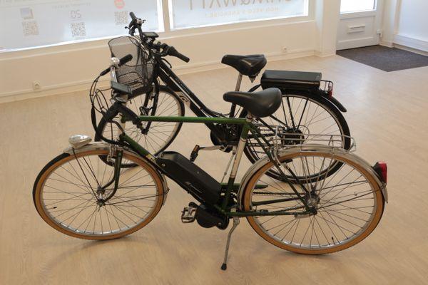Deux technologies de motorisation sont proposées, soit au niveau du pédalier, soit de la roue arrière.