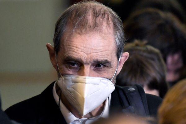 Josu Ternera photographié lors de son arrivé au tribunal de Paris le 22 février 2021.