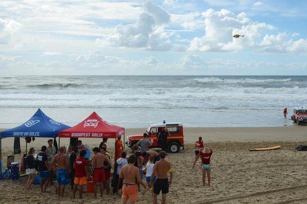L'hélicoptère Dragon 17 de la Sécurité civile a participé aux recherches