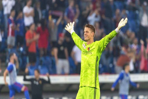 Jonas Omlin en 2019.
