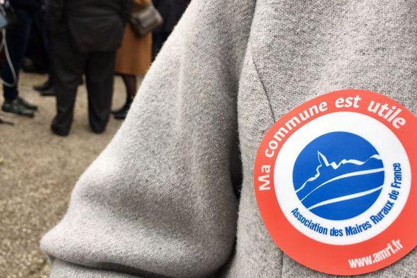 Une partie des maires ruraux de Normandie ont pu échanger avec Emmanuel Macron à Grand Bourgtheroulde mardi 15 janvier 2019.