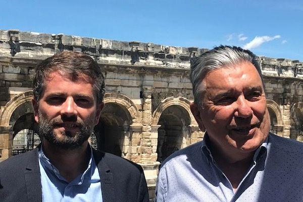 Jean-Paul Fournier entame son 4ème mandat, aux côtés de son nouveau 1er adjoint Julien Plantier.