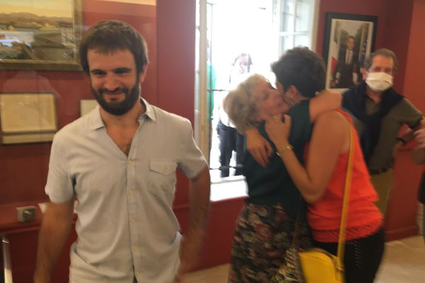 Le candidat abertzale arrivé en tête et futur maire de Ciboure au Pays basque, Eneko Aldanat-Douat