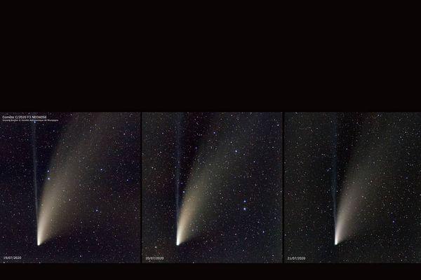La comète Neowise est visible durant ce mois de juillet 2020.