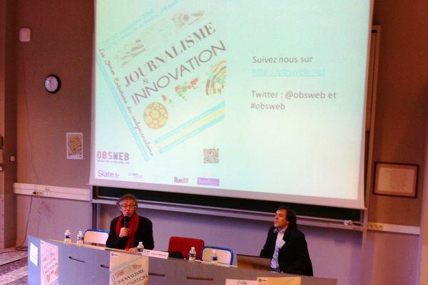 Ouverture de la 3ème édition par Jacques Walter et Arnaud Mercier de l'Université de Metz