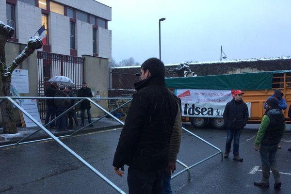 Les militants FNSEA déterminés à occuper la rue à Romorantin