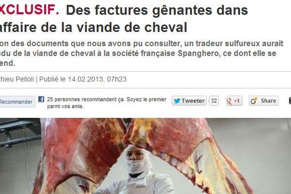 L'article paru dans le Parisien .fr