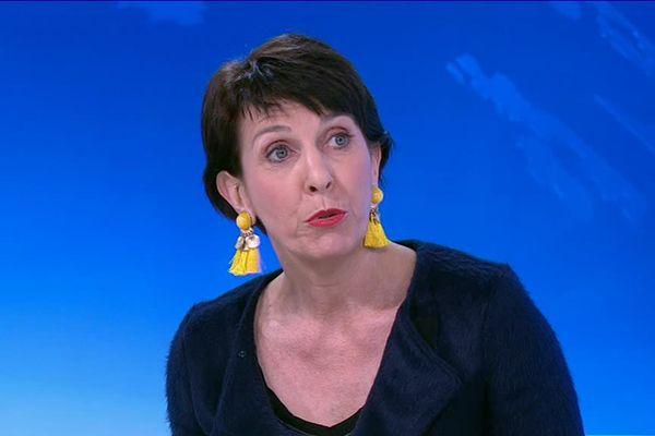 Nathalie Fick, directrice des relations internationales de l'Université de Lorraine.