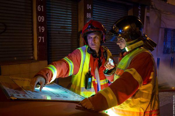 74 marins-pompiers sont sur place